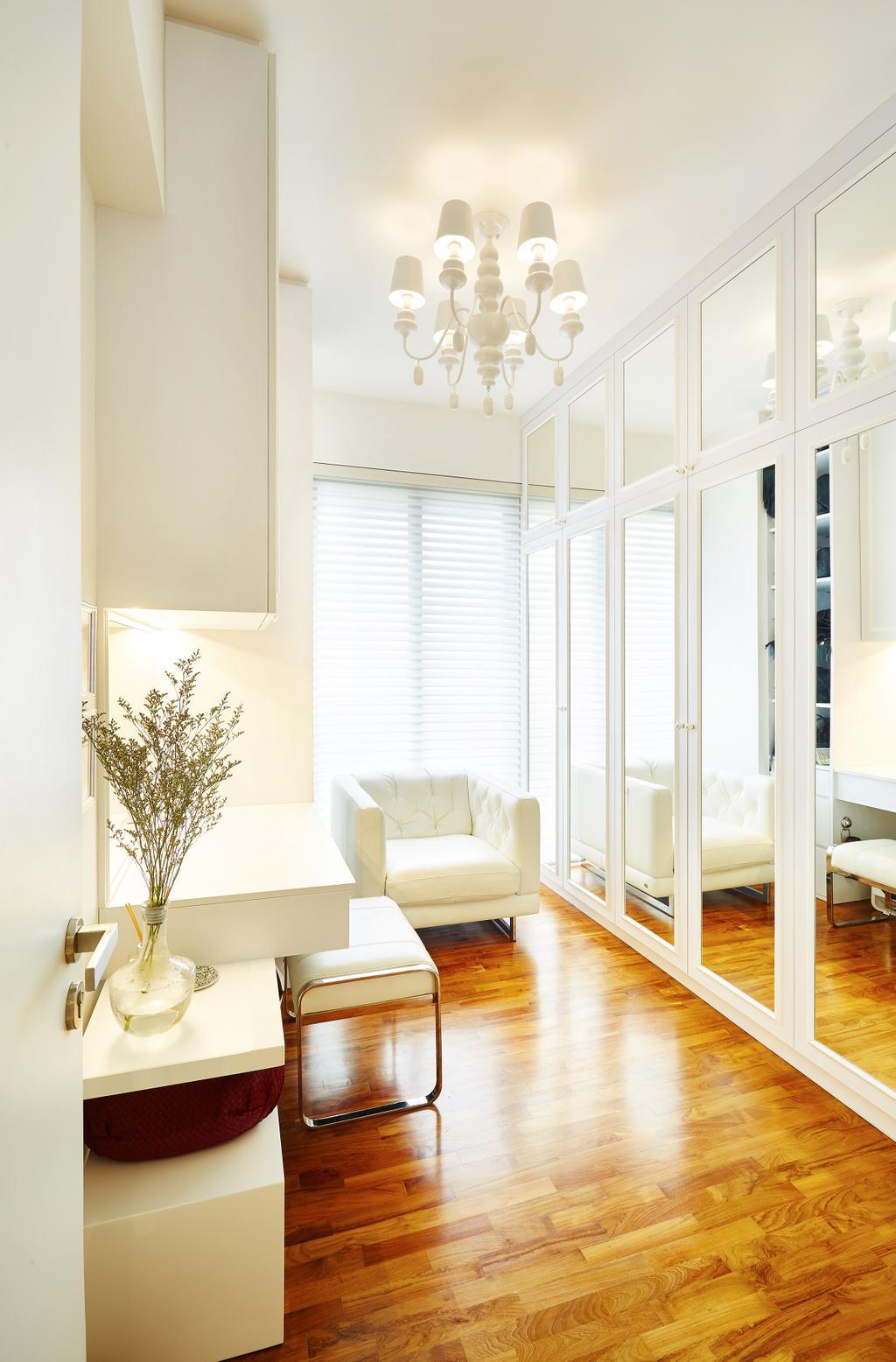 Vintage, Condo, Bedroom, Bishan, Interior Designer, Black N White Haus, Modern, Flora, Jar, Plant, Potted Plant, Pottery, Vase, Indoors, Interior Design