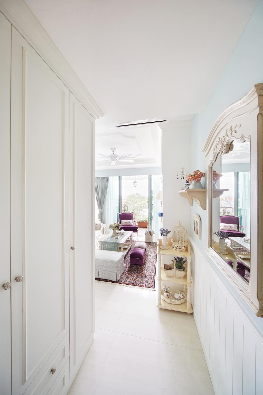 Vintage, Condo, Living Room, Pasir Ris, Interior Designer, Black N White Haus, Indoors, Interior Design, Room
