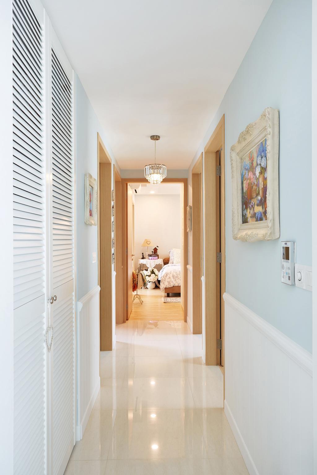 Vintage, Condo, Bedroom, Pasir Ris, Interior Designer, Black N White Haus, Indoors, Interior Design, Arch, Arched, Architecture, Building, Vault Ceiling