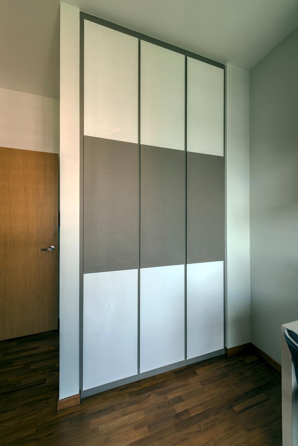 Modern, Condo, Bedroom, Ris Gradeur, Interior Designer, 9 Creation, Closet, Furniture, Wardrobe