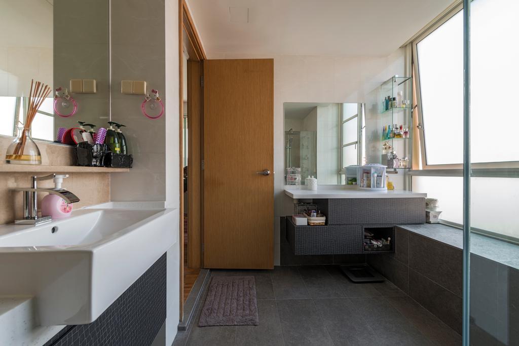 Modern, Condo, Bathroom, Ris Gradeur, Interior Designer, 9 Creation, Indoors, Interior Design, Room