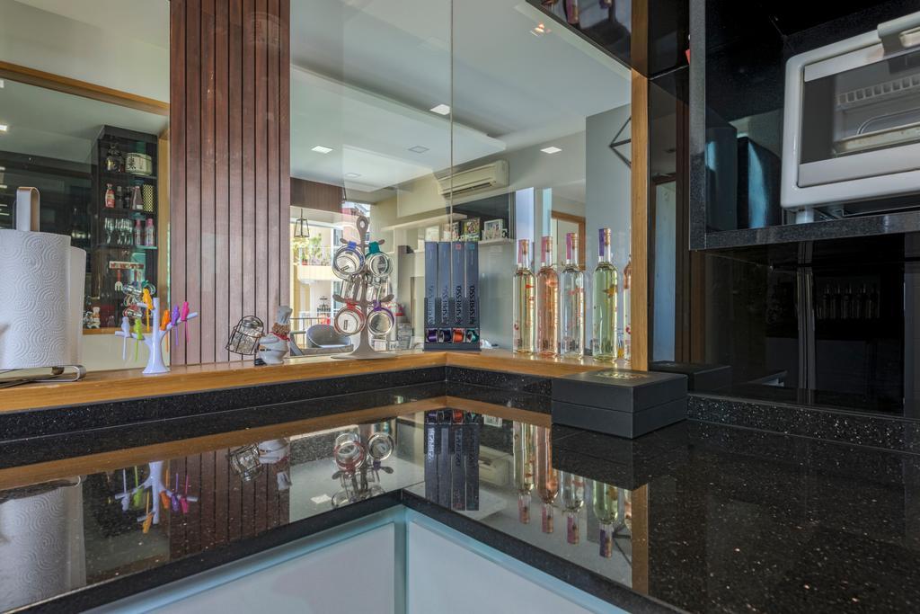 Modern, Condo, Kitchen, Ris Gradeur, Interior Designer, 9 Creation