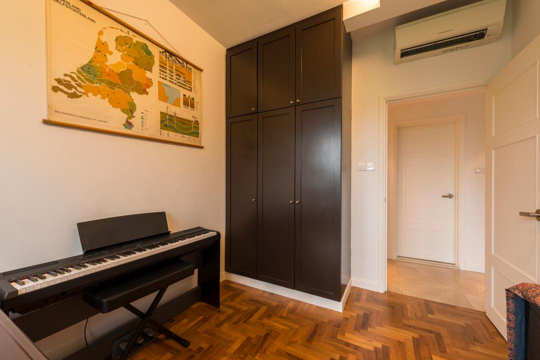 Heritage View (6 Dover Rise), Space Vision Design, Modern, Study, Condo, Leisure Activities, Music, Musical Instrument, Piano, Flooring, Upright Piano, Indoors, Room, Waiting Room