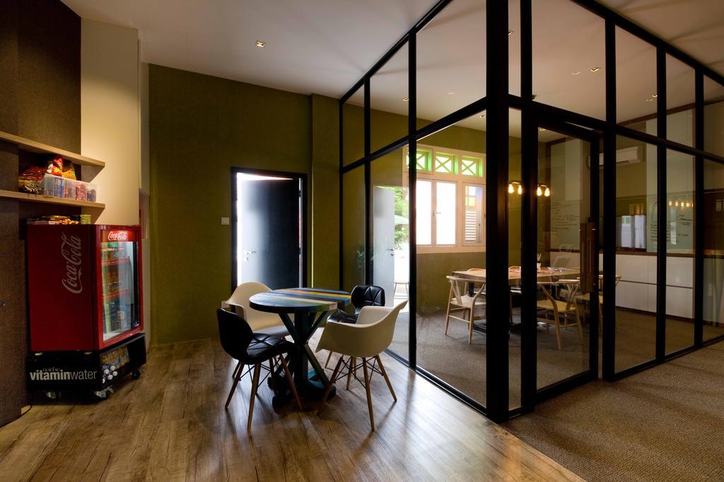 DB Studio Showroom, Commercial, Interior Designer, DB Studio, Industrial, Chair, Furniture, Door, Sliding Door, Shelf