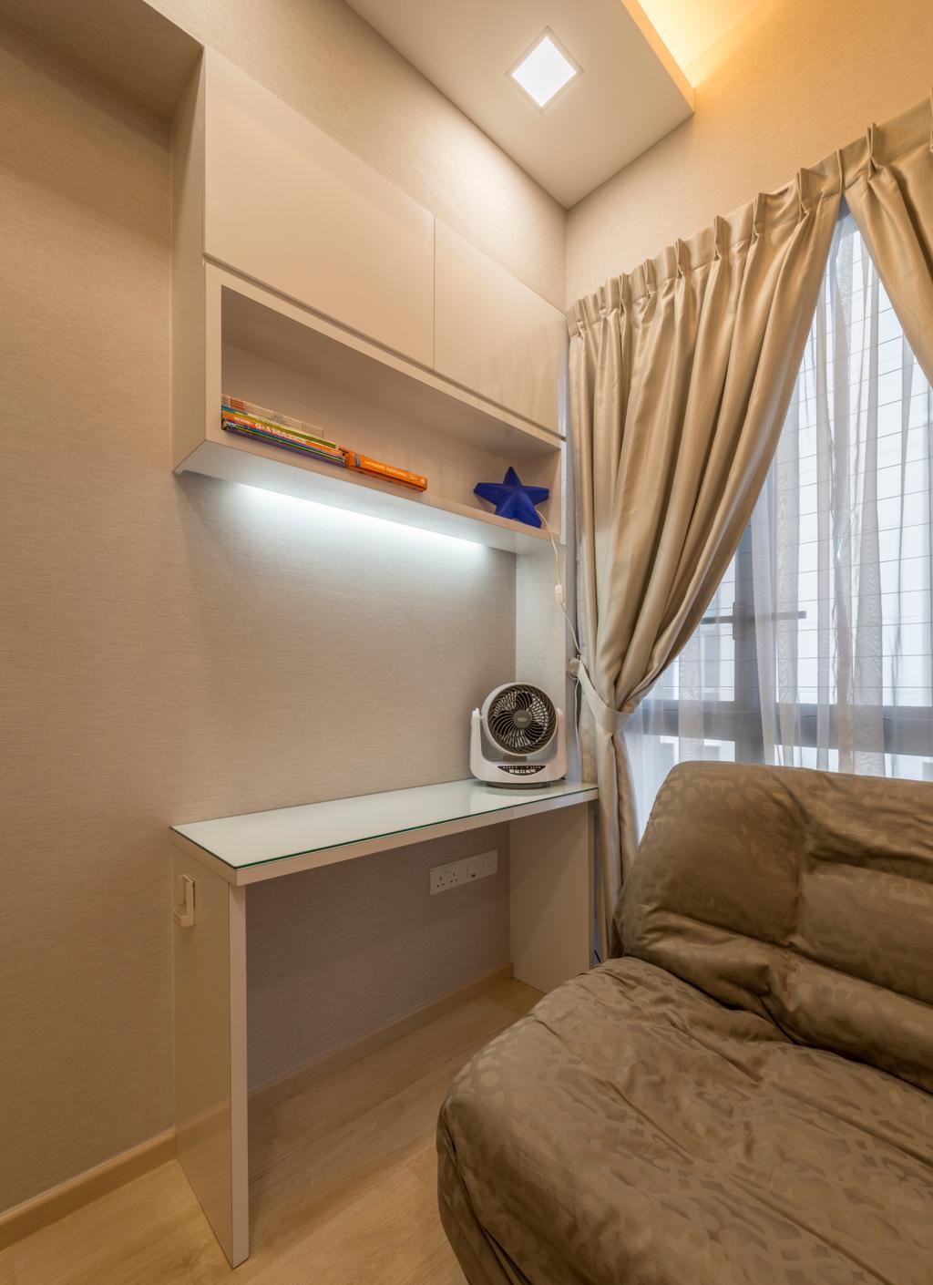 Modern, Condo, Bedroom, H2O Residence, Interior Designer, Ace's Design