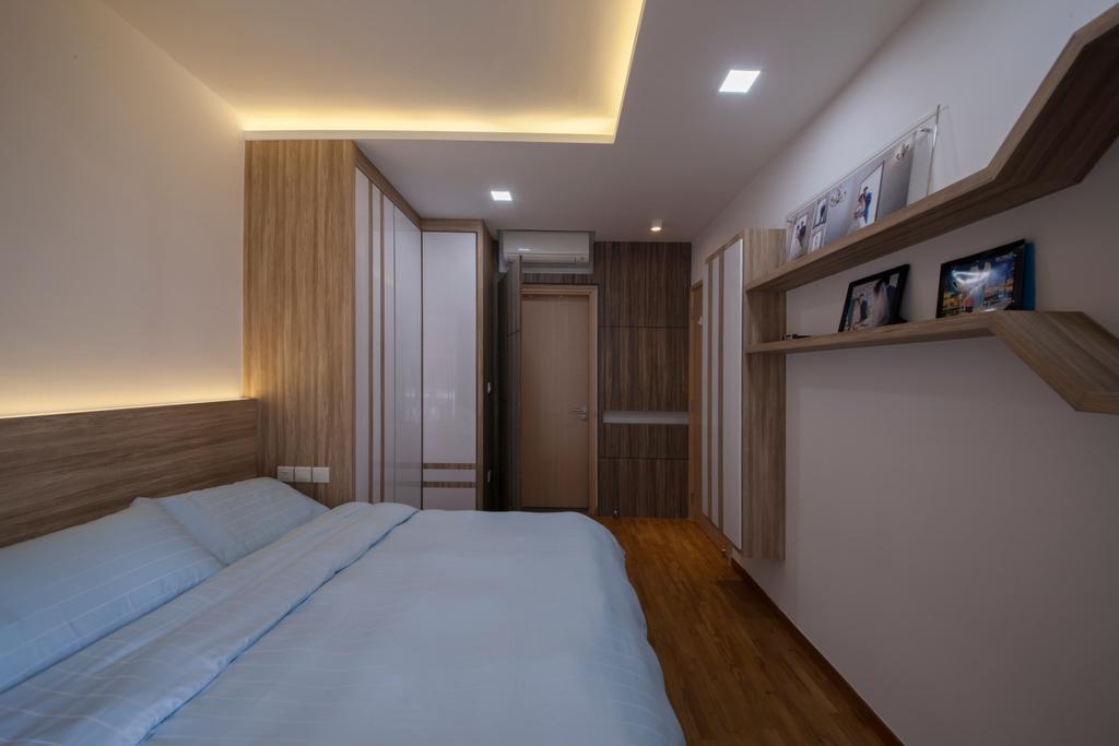 HDB, Bedroom, Forestville, Interior Designer, Project Guru, Indoors, Room