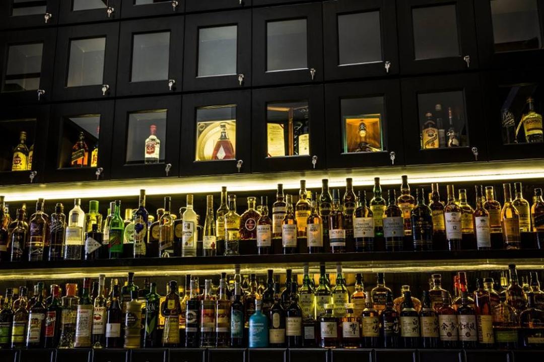 Ang Siang Road, 9 Creation, Modern, Commercial, Storage Shelves, Shelf Lighting, Wine Bottle, Wine Bottle Shelf, Alcohol, Beverage, Drink, Liquor