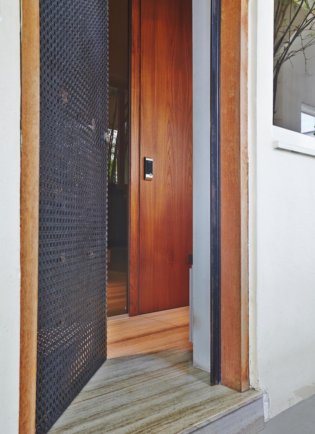 Vintage, HDB, Kim Keat Road, Interior Designer, Bowerman, Modern, Transitional, Door, Folding Door