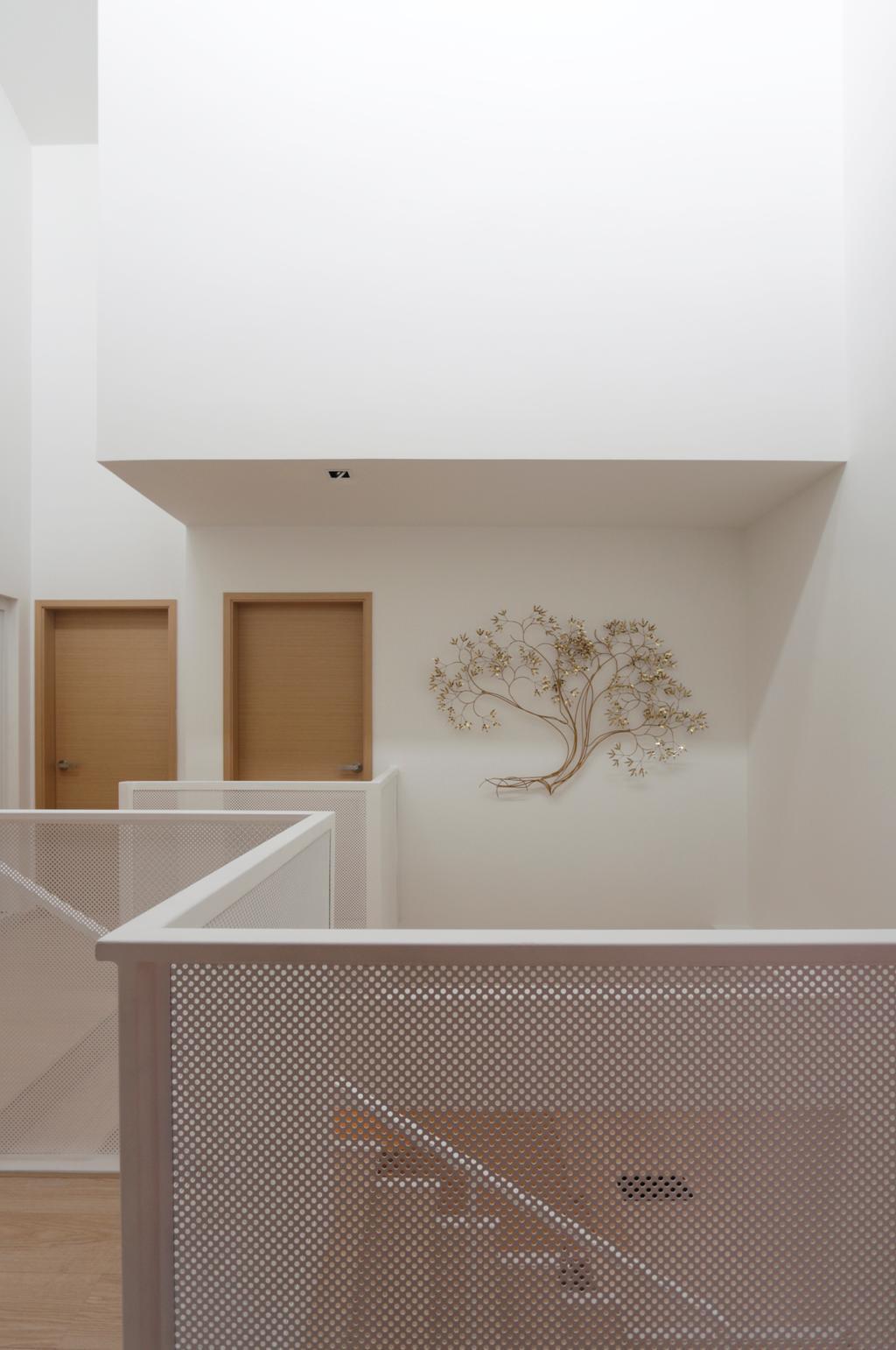 Minimalistic, Landed, Lentor Green, Architect, EHKA Studio, Banister, Handrail