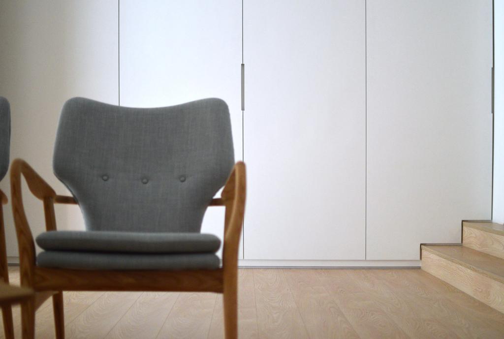 Minimalistic, Landed, Lentor Green, Architect, EHKA Studio, Chair, Furniture, Flooring, Plywood, Wood