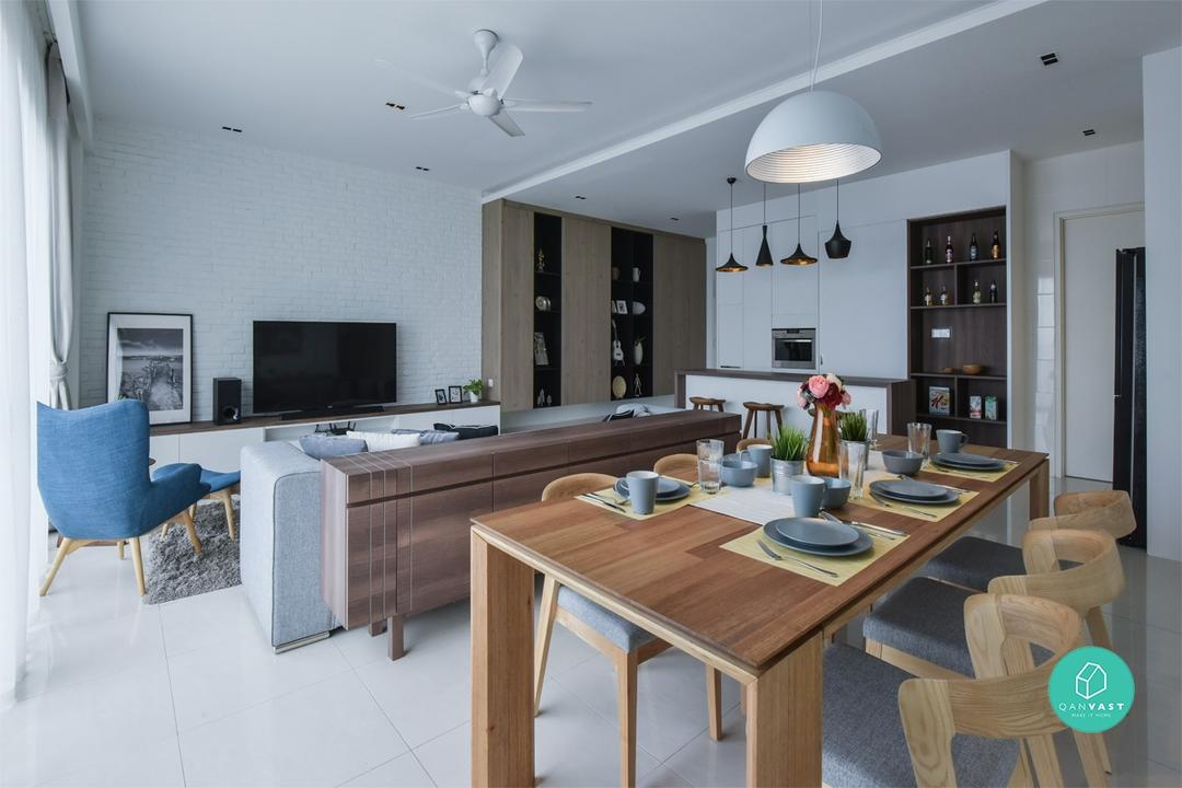 7 Supremely Stylish Condo Interiors for Under RM150K