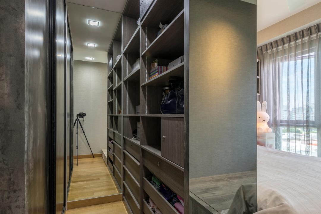 Eight Riversuites, Meter Square, Contemporary, Modern, Bedroom, Condo, Tripod, Shelf