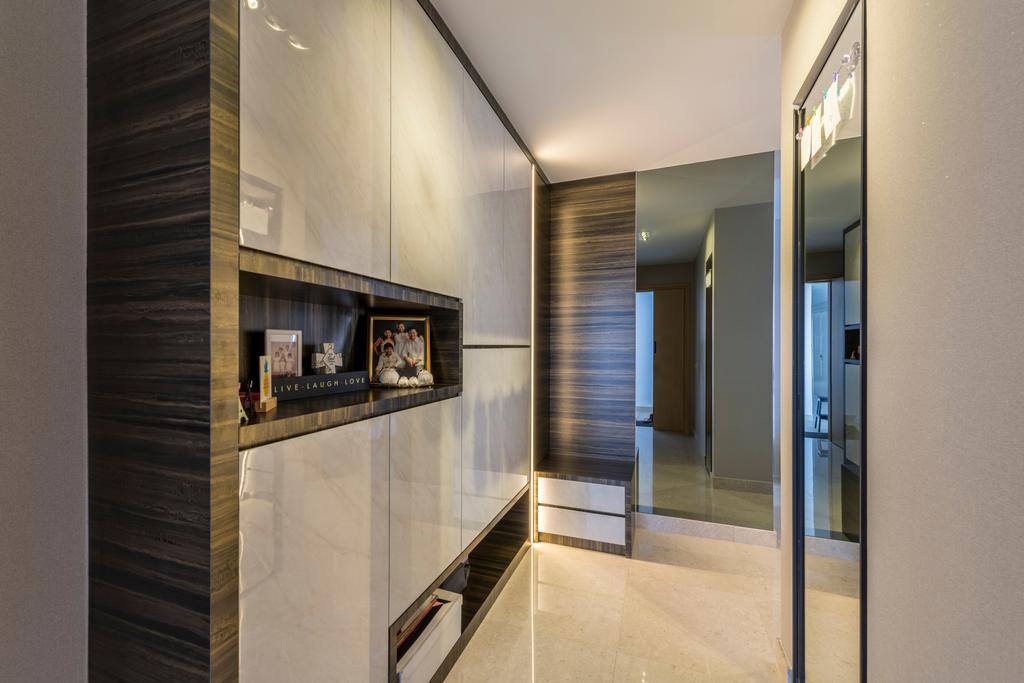 Contemporary, Condo, Living Room, Eight Riversuites, Interior Designer, Meter Square, Modern, Banister, Handrail