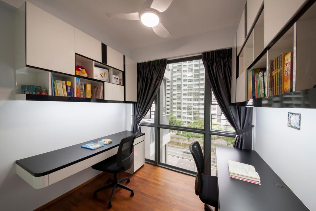 Modern Contemporary Study Room | Interior Design Singapore ...