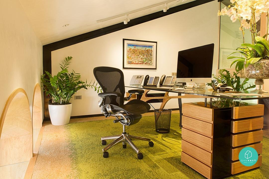 7 Unique Offices You'll Wish Your Home Is Like