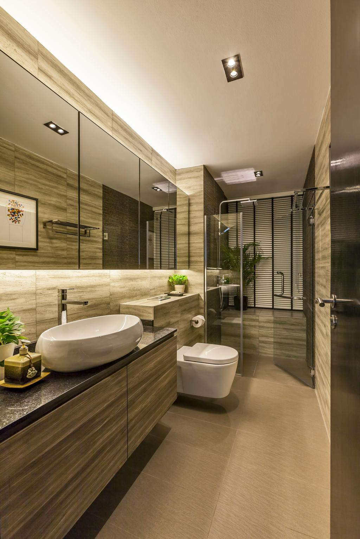 Modern, Condo, Bathroom, The Light @ Cairnhill, Interior Designer, New Age Interior, Contemporary, Indoors, Interior Design, Room