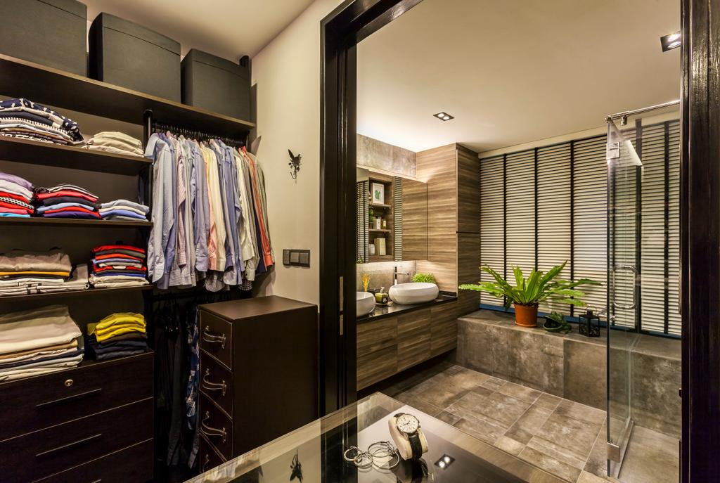 Modern, Condo, Bedroom, The Light @ Cairnhill, Interior Designer, New Age Interior, Contemporary, Shelf