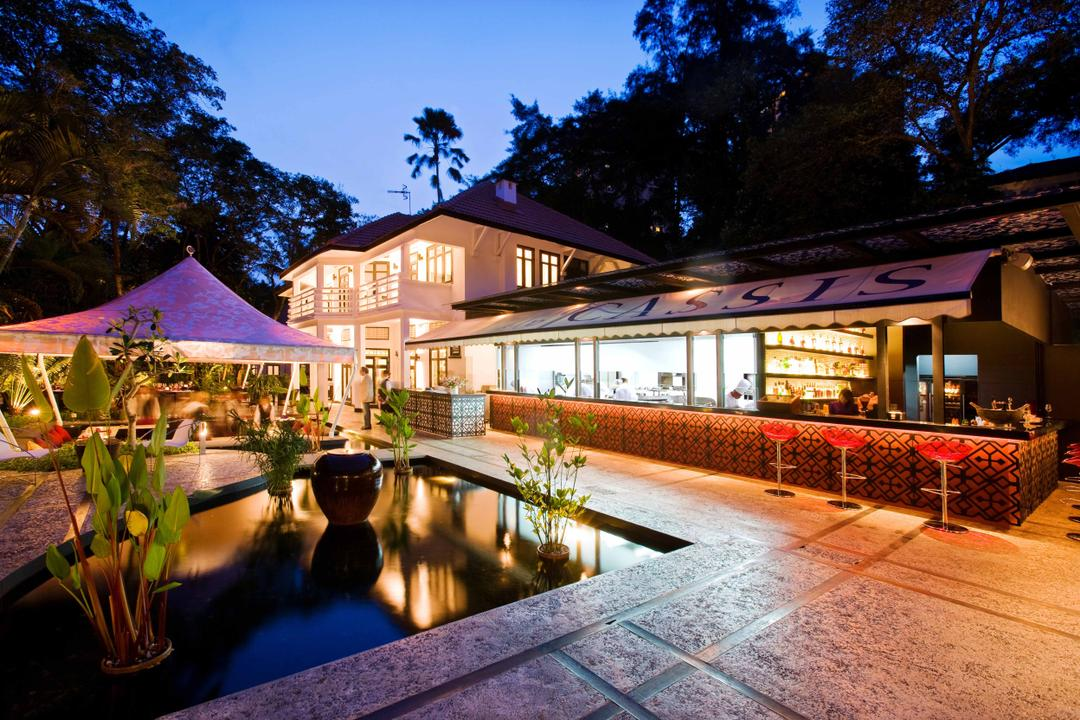 Rochester Park, Aamer Architects, Contemporary, Commercial, Pond, Potted Plants, Colonial, High Chairs, Bar Stools, Building, Hotel, Resort