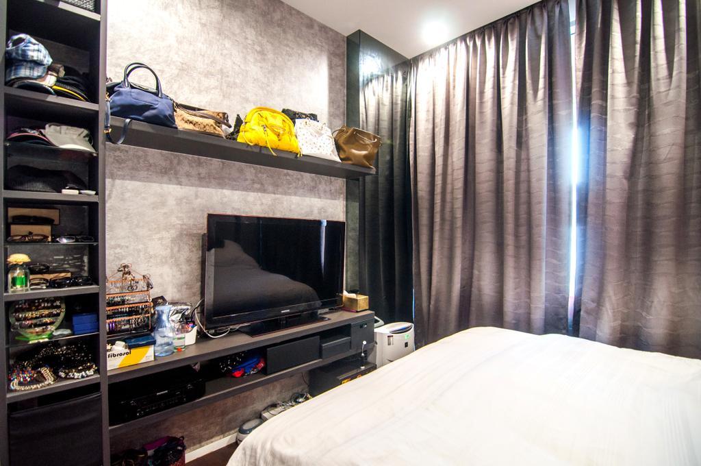 Contemporary, Condo, Bedroom, Seletar Park Residence (Block 21), Interior Designer, IdeasXchange, Appliance, Electrical Device, Oven