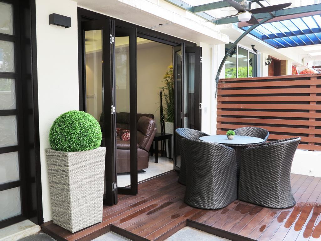 Traditional, Landed, Balcony, Andrews Terrace, Interior Designer, NIJ Design Concept, Chair, Furniture