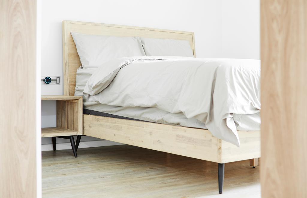Minimalistic, HDB, Bedroom, Bishan Street 12, Interior Designer, The Local INN.terior 新家室, Bed, Furniture