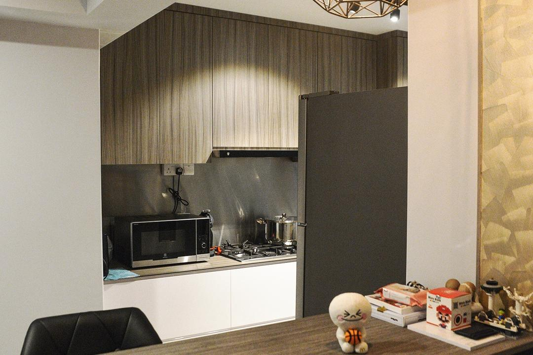 Yishun (Block 342B), NIJ Design Concept, Modern, Dining Room, HDB, Appliance, Electrical Device, Microwave, Oven, Toy, Figurine
