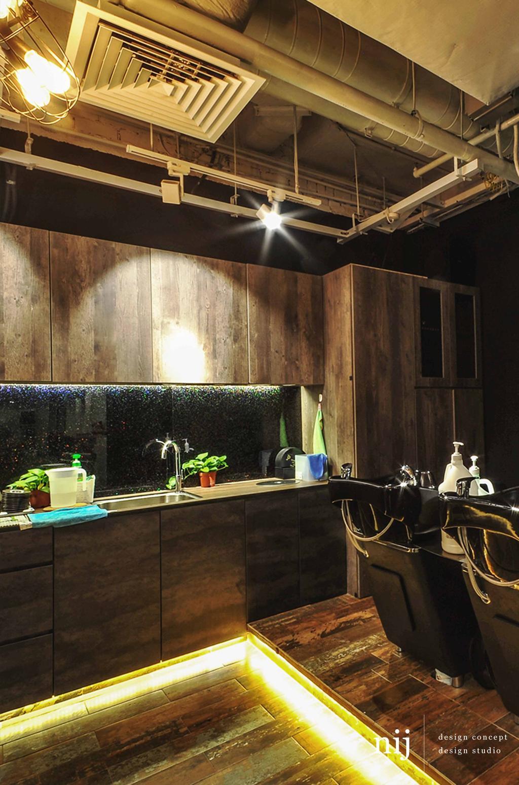 Sun Plaza Alan & Guys, Commercial, Interior Designer, NIJ Design Concept, Modern, Bottle