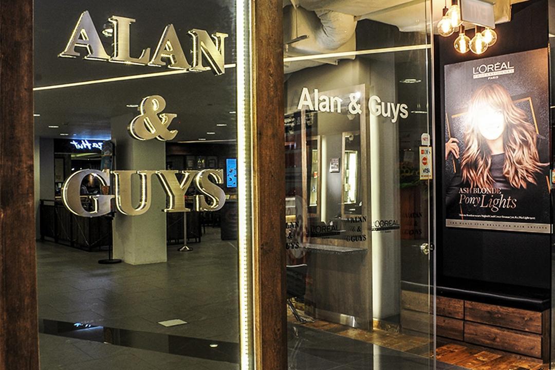 Sun Plaza Alan & Guys, NIJ Design Concept, Modern, Commercial, Door, Revolving Door