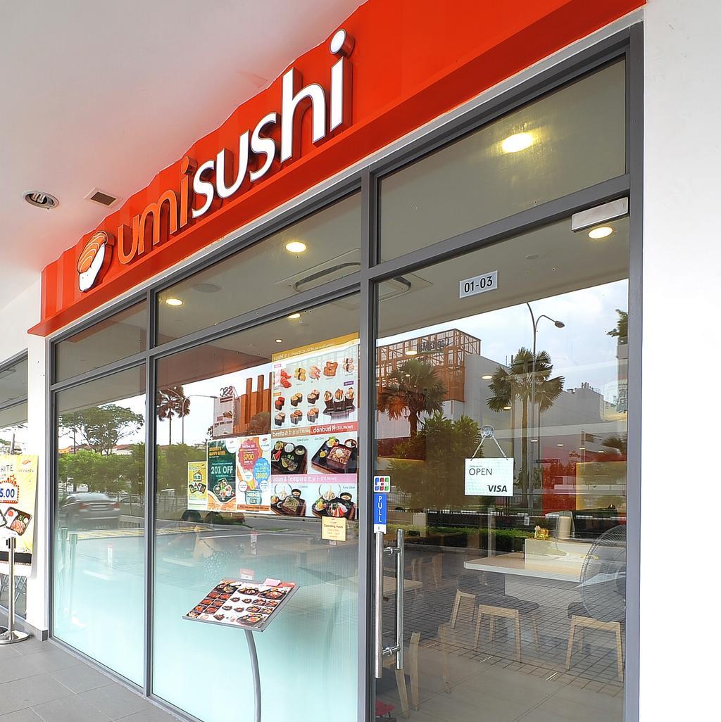 Sembawang Umi Sushi, Commercial, Interior Designer, NIJ Design Concept, Modern, Flora, Jar, Plant, Potted Plant, Pottery, Vase, Food, Food Court, Restaurant