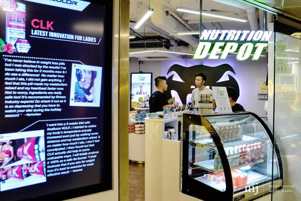 Nutrition Depot, Commercial, Interior Designer, NIJ Design Concept, Modern, Human, People, Person, Kiosk, Electronics, Keyboard
