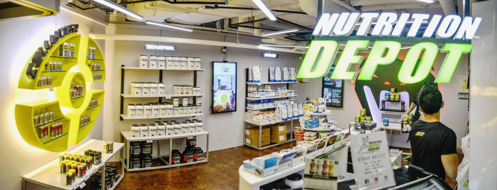 Nutrition Depot, Commercial, Interior Designer, NIJ Design Concept, Modern