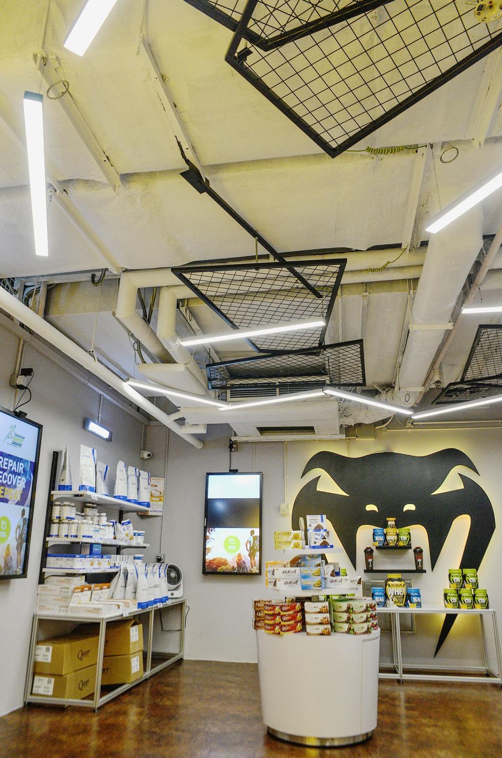 Nutrition Depot, Commercial, Interior Designer, NIJ Design Concept, Modern, Spiral
