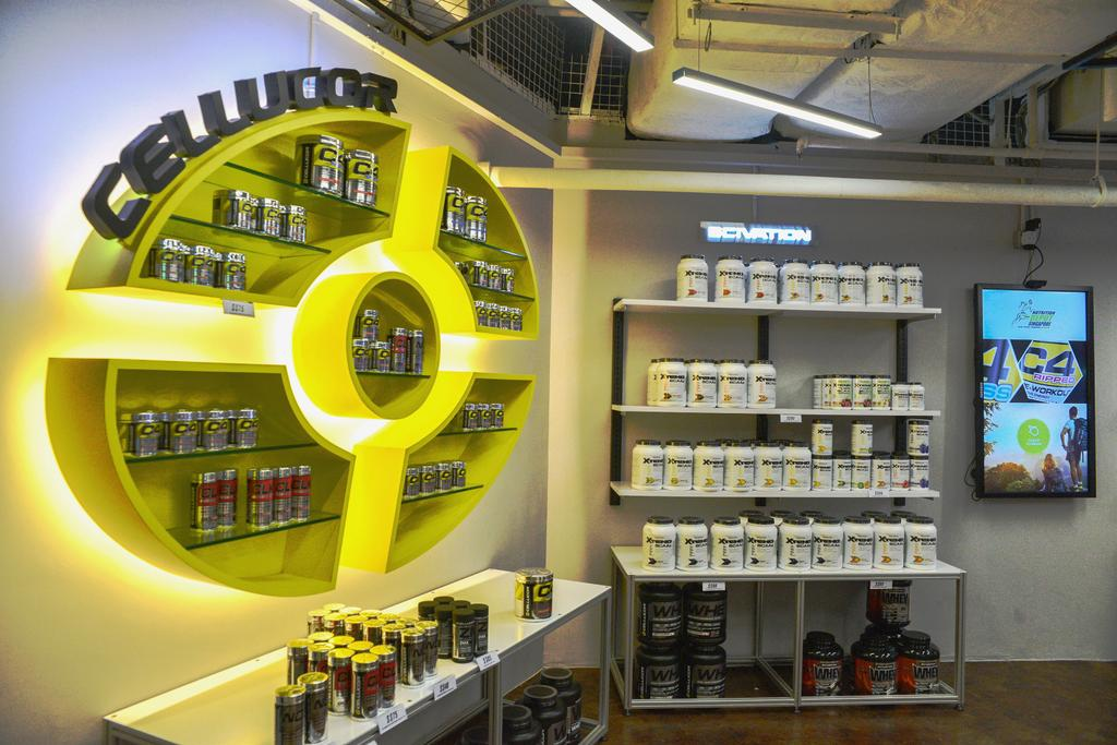 Nutrition Depot, Commercial, Interior Designer, NIJ Design Concept, Modern, Sink, Shop