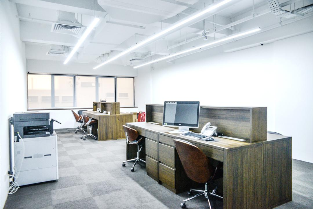 Hengda Building, NIJ Design Concept, Modern, Commercial, Machine, Printer, Computer, Electronics, Pc