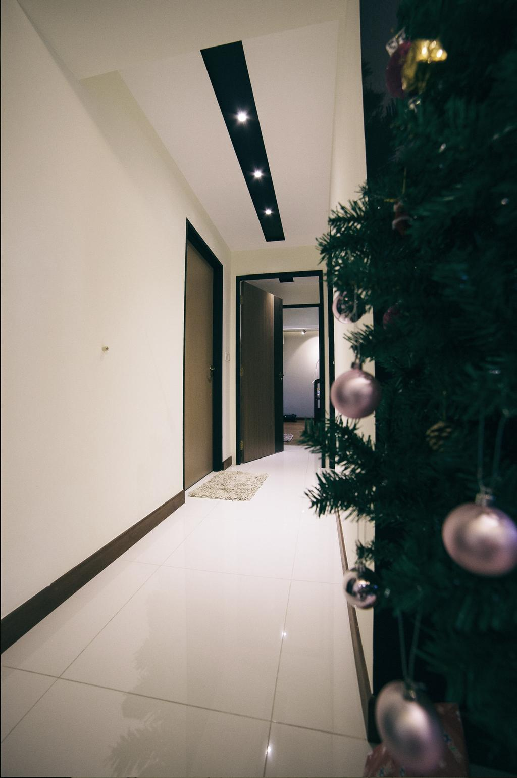 Scandinavian, HDB, Living Room, Upper Serangoon View (Block 476C), Interior Designer, NIJ Design Concept, Flora, Jar, Plant, Potted Plant, Pottery, Vase, Ball, Sphere