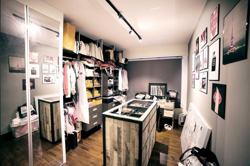 Scandinavian, HDB, Bedroom, Upper Serangoon View (Block 476C), Interior Designer, NIJ Design Concept, Appliance, Electrical Device, Oven