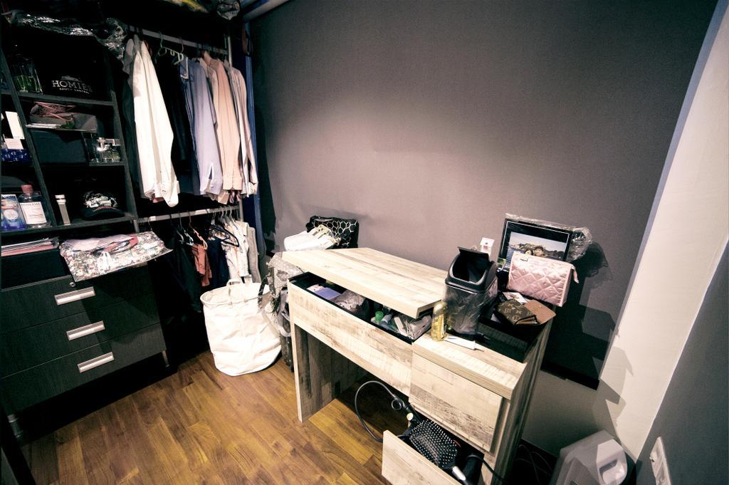Scandinavian, HDB, Bedroom, Upper Serangoon View (Block 476C), Interior Designer, NIJ Design Concept, Building, Housing, Indoors