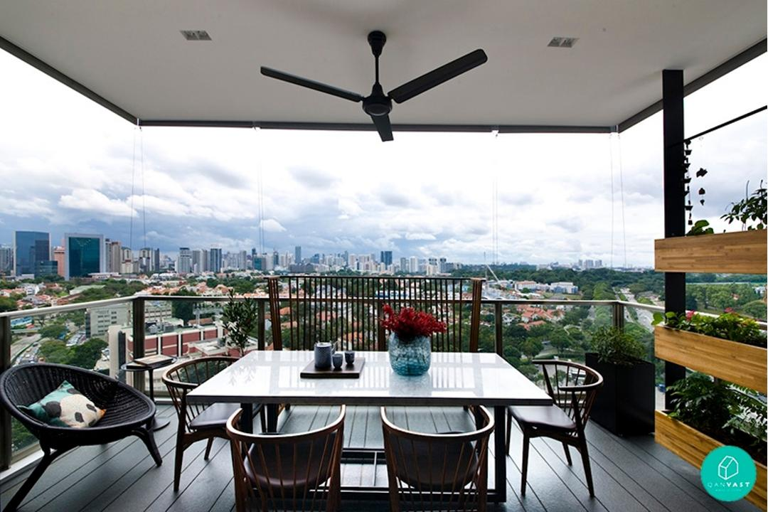 5 Ideas To Invigorate Your Hdb Condo Balcony Qanvast