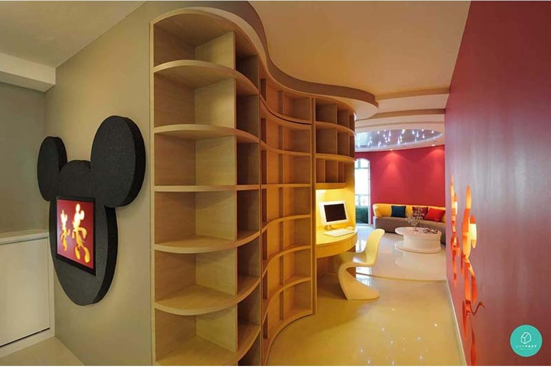DHOME-Jurong-East-Mickey-Mouse-Hallway-1