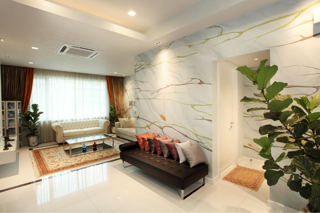 Traditional, Landed, Rafflesia, Interior Designer, The Grid Studio, Flora, Jar, Plant, Potted Plant, Pottery, Vase, Indoors, Interior Design