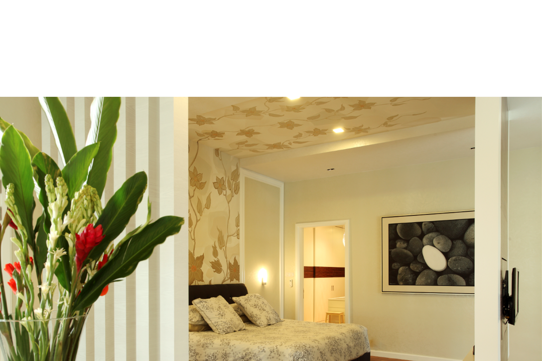 Rafflesia, The Grid Studio, Traditional, Bedroom, Landed, Indoors, Interior Design, Blossom, Flora, Flower, Plant, Tulip
