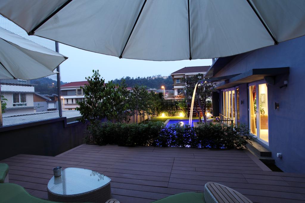 Traditional, Landed, Rafflesia, Interior Designer, The Grid Studio, Building, House, Housing, Villa, Porch, Patio