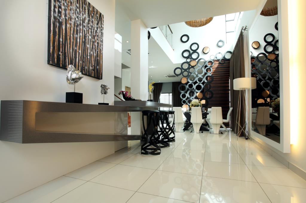 Modern, Landed, Dining Room, 16 Sierra, Interior Designer, The Grid Studio, Indoors, Interior Design, Chair, Furniture
