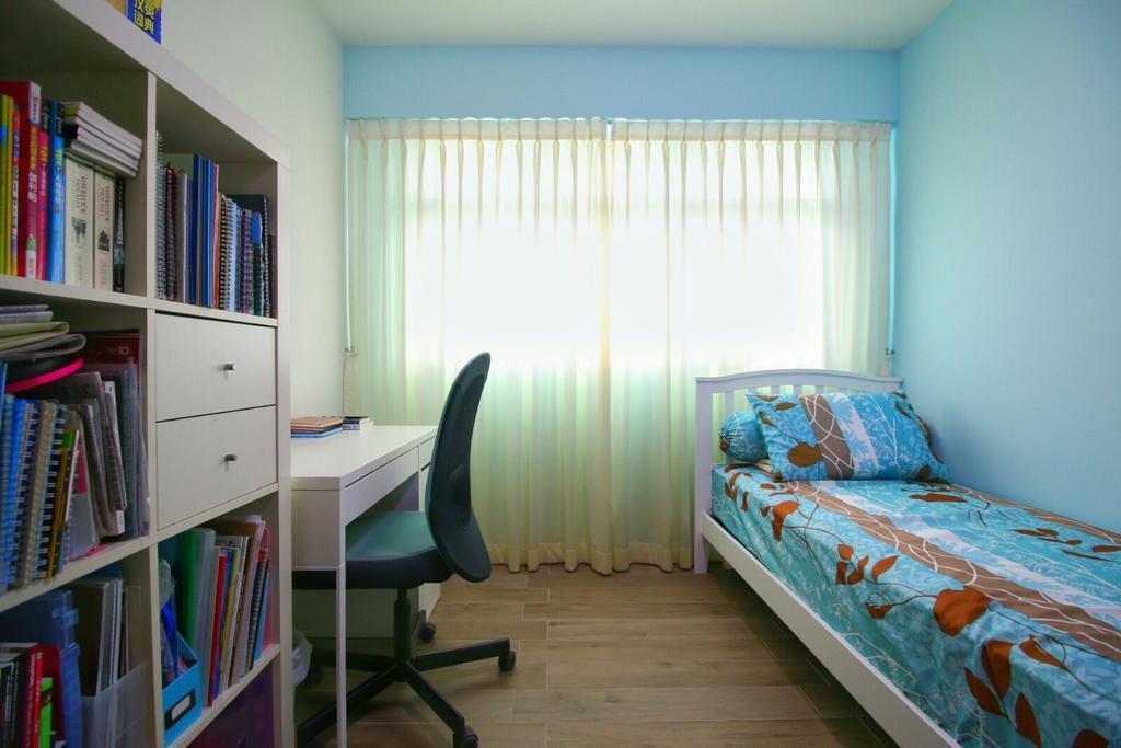 Modern, HDB, Bedroom, Fernvale Lea (Block 468), Interior Designer, Unity ID