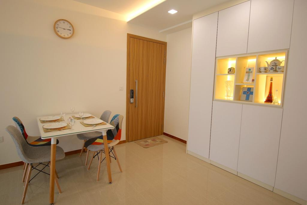 Minimalistic, Condo, Dining Room, Flo Residences, Interior Designer, Unity ID