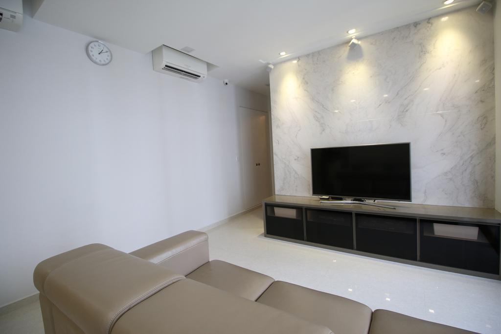 Modern, HDB, Living Room, Kovan Regency, Interior Designer, Unity ID