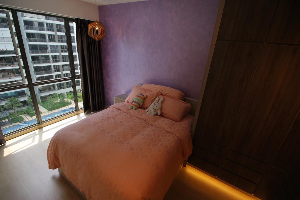 Modern, Condo, Bedroom, 17 Punggol Field Walk, Interior Designer, Unity ID