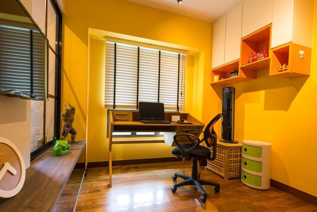 Industrial, HDB, Study, 87 Dawson Road, Interior Designer, Unity ID