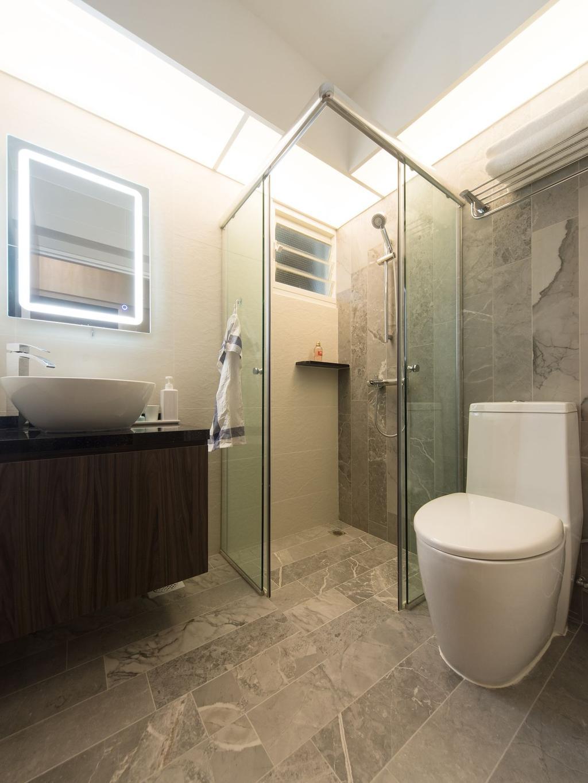 Contemporary, HDB, Bedroom, Punggol Drive (Block 664B), Interior Designer, Unity ID