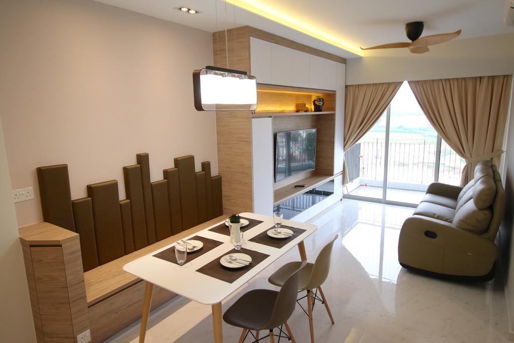 Modern, Condo, Dining Room, City Line, Interior Designer, Unity ID